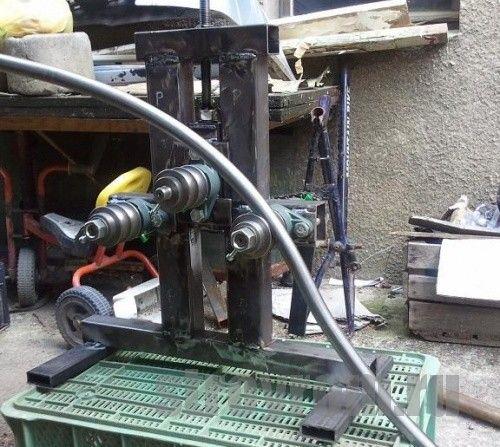 Трубогиб - це механізм для гнучкі металевих труб