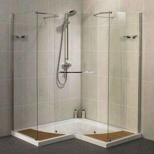 Збірна душова кабіна - це проста конструкція, дуже зручна.