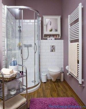 Дизайн ванної кімнати з душем.