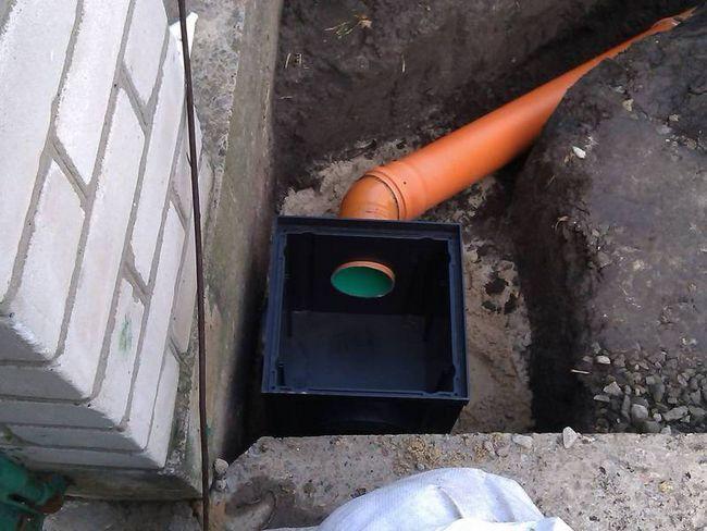 Монтаж зливової каналізаційної системи