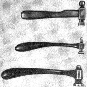 Інструменти для карбування по листу: молотки
