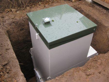 Приклад станції біологічної очистки