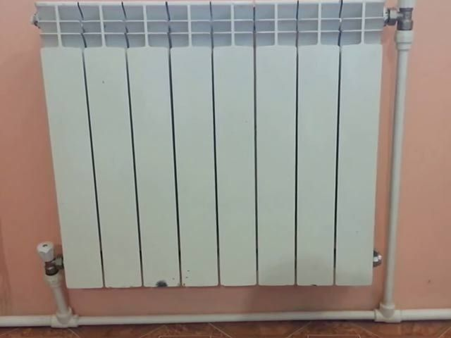 Підключення радіатора в однотрубної системі опалення