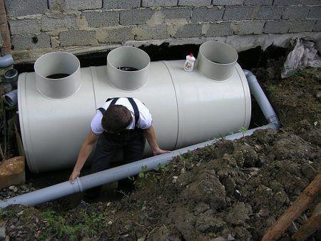 Підключення септика до системи каналізації