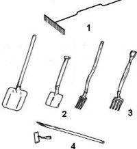 Якими повинні бути інструменти на дачі