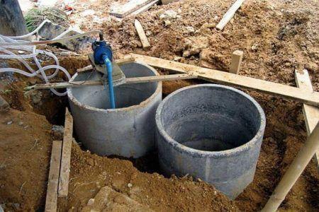 Будівництво септика з бетонних кілець