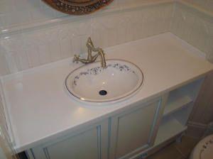 Врізна раковина ідеально підійде для ванної кімнати.