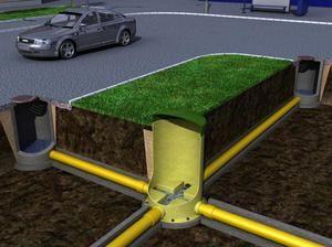 Пристрій зовнішнього водопроводу і каналізації по снип