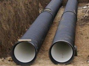 Гофровані труби для каналізації