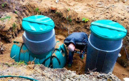Підключення септика до каналізації