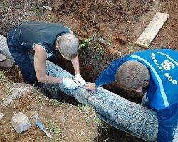Утеплення водопровідних труб в землі руберойдом