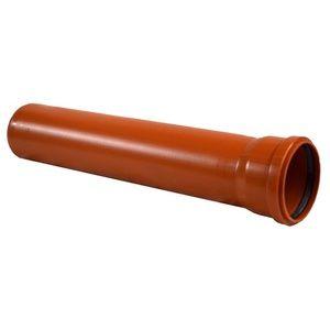 Особливості рудих каналізаційних труб діаметром 160 мм