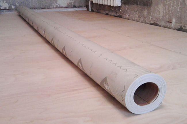 Найбільш часто в якості базової поверхні для укладання лінолеумного настилу використовують полімерну стяжку