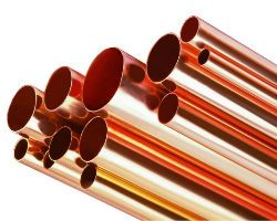 Мідні труби різних діаметрів