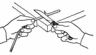 Прийом роботи монтерським ножем