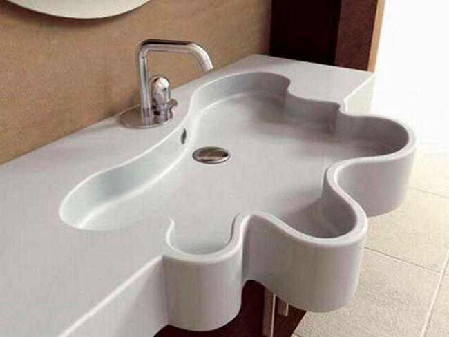 Сучасні раковини для ванної