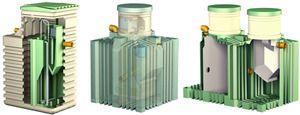 Септик Біотанк може бути виконаний в одному з двох видів.
