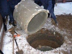 зливна яма з кілець