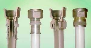 З`єднання та встановлення металопластикових труб своїми руками