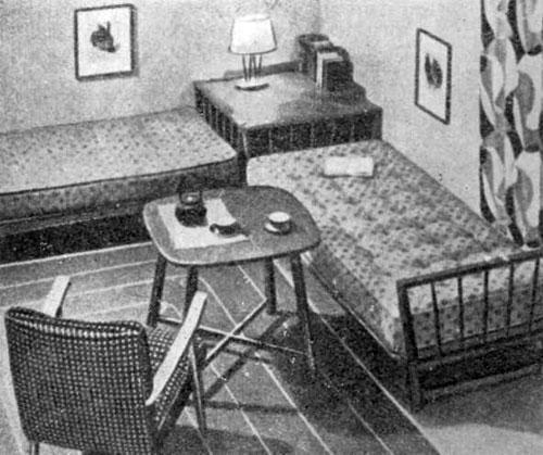 Група меблів для житлової-спальної кімнати