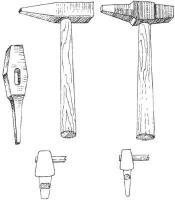 Ударні інструменти-спеціальні ковальські інструменти