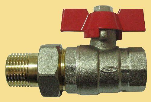 Кульовий кран для водопроводу зі згоном