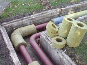 Як зробити утеплення труб під землею