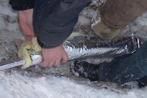 Як утеплити підземні труби
